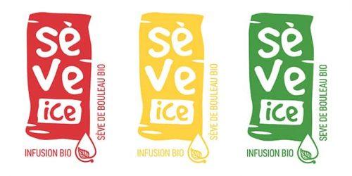 3 logos sève ice